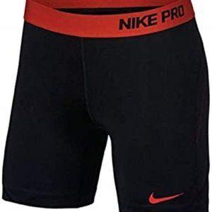 Nike Women Pro Sliding Shorts Size Large Black NWT